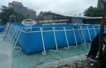 Bể bơi di động kích thước 3.6m x 5.1m x 1.2m