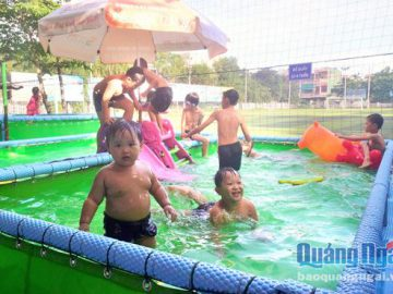 Bể bơi lắp ghép di động: Mô hình nhiều tiện ích