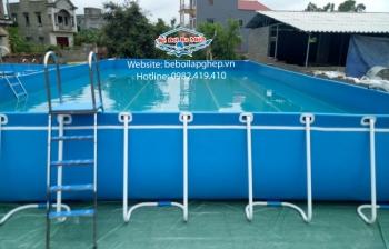 Tại sao gọi là bể bơi thông minh, bể bơi lắp ghép