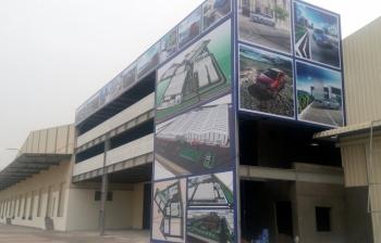 Thi công lắp đặt Pano quảng cáo – Hyundai Thành Công Ninh Bình