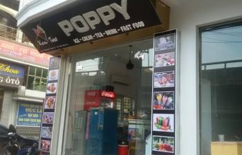 Thi công lắp đặt biển quảng cáo – Kem POPPY