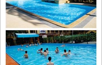 Sở hữu chiếc bể bơi cho gia đình thật đơn giản mà lại tiết kiệm chi phí