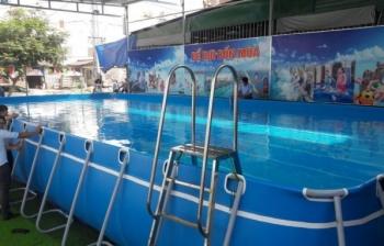 Bể bơi lắp ghép kích thước 6.6m x 8.1m x 1.2m