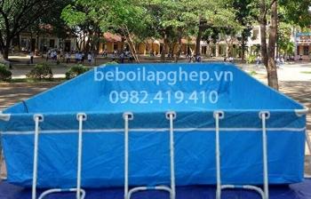 Bể bơi lắp ghép kích thước 5.1m x 17.1m x1.2m