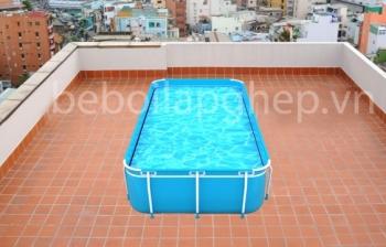 Bể bơi gia đình, KT: 2.1m x 3.6m x 0.8m