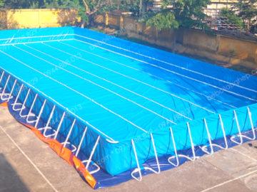 Bể bơi lắp ghép 6.6m x 8.1m x 1.2m