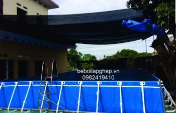 Lắp đặt bể bơi lắp ghép thông minh phục vụ kinh doanh tại Bắc Ninh