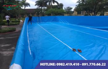 Bể bơi lắp ghép kích thước 5.1m x 20.1m x1.2m