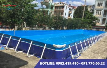 Bể bơi lắp ghép kích thước 5.1m x 14.1m x1.2m