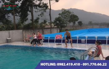 Dự án bể bơi lắp ghép tại Hoành Bồ tỉnh Quảng Ninh