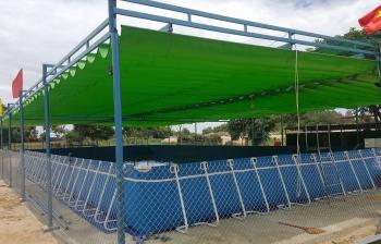 Bể bơi lắp ghép kích thước 5.1m x 20.1m x 1.2m