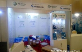 Thi công lắp đặt gian hàng hội nghị – Y tế An Thành