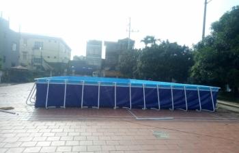 Bể bơi lắp ghép_Lắp đặt tại Thanh Oai, Hà Nội