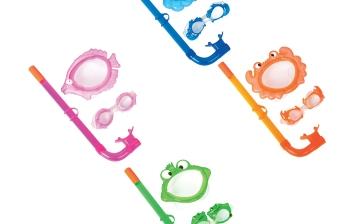 Mặt nạ, ống thở phù hợp cho trẻ dưới 3 tuổi