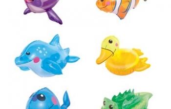 Thú tạo bọt biển tắm giành cho trẻ dưới 4 tuổi