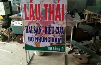 Thi công lắp đặt biển quảng cáo POPPY tại thành phố Ninh Bình
