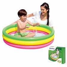 Bể phao phù hợp với trẻ dưới 2 tuổi