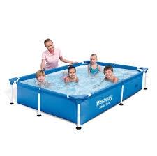 Bể bơi lắp ghép cỡ nhỏ KT: 2.21m x1.50m x43cm