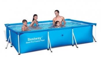 Bể bơi lắp ghép KT: 4m x2.11m x81cm