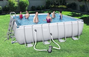 Bể bơi lắp ghép KT: 4.88m x 4.88m x 1.22m