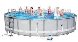Bể bơi lắp ghép cỡ nhỏ KT: 3.05m x 76cm