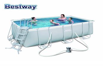 Bể bơi lắp ghép  KT: 2.01m x 4.12m x1.2m