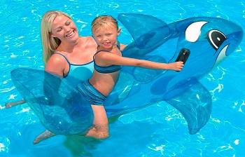 Phao bơi cá voi giành cho trẻ dưới 3 tuổi