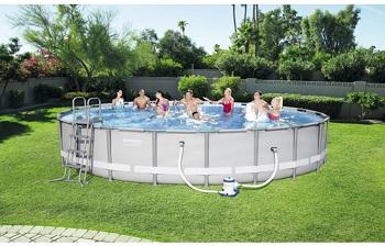 Bể bơi lắp ghép KT: 6.10m x1.22m