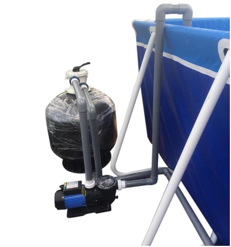 Cách lắp đặt hệ thống lọc nước bể bơi