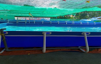Bể bơi lắp ghép kích thước 8.1m x 17.1m x1.2m