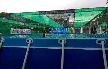 Bể bơi lắp ghép kích thước 5.1m x 9.6m x1.2m