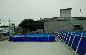 Bể bơi lắp ghép Quảng Nam  giá rẻ