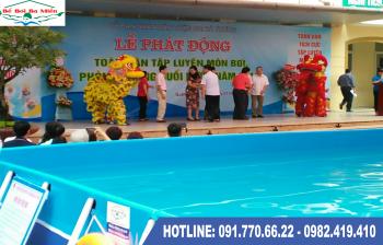 Bể bơi lắp ghép kích thước 5.1m x 12.6m x1.2m