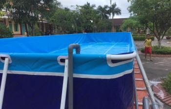 Dự án bể bơi lắp ghép Sài Gòn