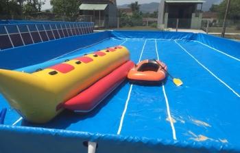 bể bơi lắp ghép giá rẻ dùng trong kinh doanh