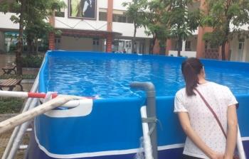 Kinh doanh bể bơi di động