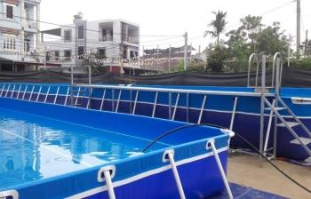 Bể bơi di động Nam Định giá rẻ