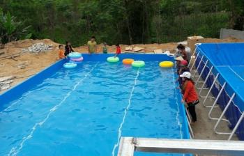 Bể bơi lắp ghép Nghệ An giá rẻ