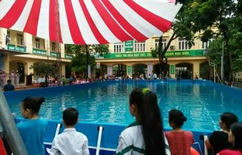 Bể bơi thông minh trường học