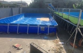 Bể bơi di động Lào Cai