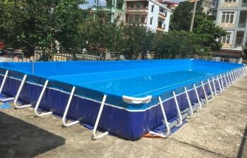 Bể bơi lắp ghép ở Vinh