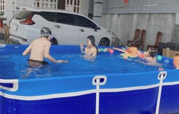 Hồ bơi lắp ghép cho bé