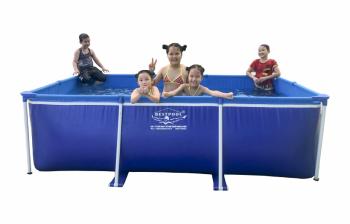 Bể bơi mini KT 2m05 x 3m05 x 0.86m