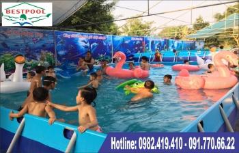 Bể bơi lắp ghép quận Tân Bình