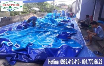 Quy trình sản xuất hồ bơi lắp ghép