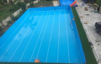 Dự án bể bơi lắp ghép tại Xã Tân Thanh – Huyện Văn Lãng – Tỉnh Lạng Sơn