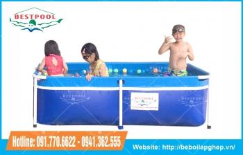Bể bơi mini Bestpool KT 1.2m x 2m x 60cm