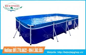 Bể bơi mini Bestpool KT 2.2m x 4m x 80cm
