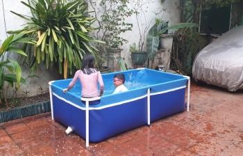 Bể bơi mini Bestpool KT 1.2m x 2m x 80cm