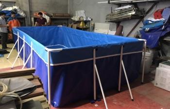 Chất Liệu bể bơi lắp ghép